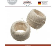 Запасной блок кулинарных нитей, 2 шт., 50 м, 100% хлопок, Kuchenprofi, Германия