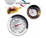 BBQ Термометр для жарки мяса (от 0 до +120 С), D 5,5 см, L 11 см, Kuchenprofi, Германия