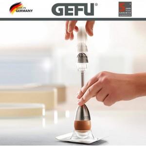 OVO EGG очиститель скорлупы с солонкой и 2 подставки для яиц, GEFU, Германия, арт. 90195, фото 2