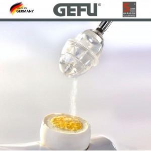 OVO EGG очиститель скорлупы с солонкой и 2 подставки для яиц, GEFU, Германия, арт. 90195, фото 3