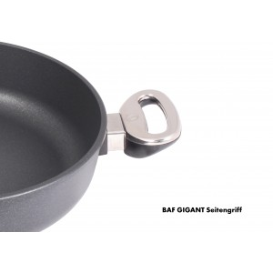 GIGANT Newline Антипригарная кастрюля квадратная для плиты и духовки, 24 х 24 см, BAF, Германия, арт. 98475, фото 3