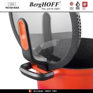 GEM Red Антипригарный сотейник для любых плит, 4.6 л, D 28 см, BergHOFF, арт. 92950, фото 7