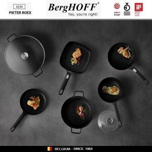 GEM Блюдо для запекания квадратное, 24.5 х 20 см, керамика жаропрочная, эмаль, BergHOFF 1697012, арт. 89763, фото 3