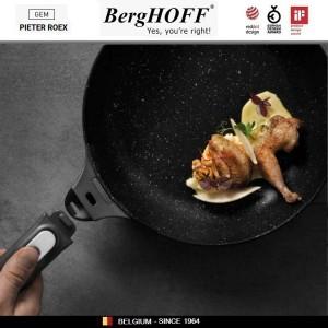 GEM Red Антипригарная сковорода со съемной ручкой, 1.1 л, D 20 см, BergHOFF, арт. 92955, фото 4