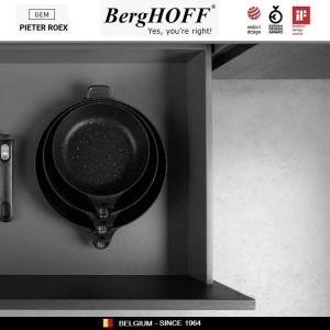GEM Red Антипригарная сковорода со съемной ручкой, 1.1 л, D 20 см, BergHOFF, арт. 92955, фото 3