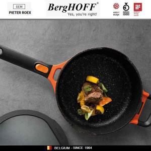 GEM Red Антипригарная сковорода-сотейник со съемной ручкой, 4.6 л, D 28 см, BergHOFF, арт. 92953, фото 2
