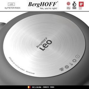 LEO Антипригарная кастрюля, 6.2 литра, D 28 см, индукционное дно, BergHOFF, арт. 96788, фото 3