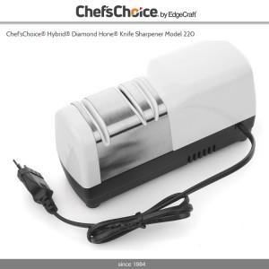 Точилка электрическая для ножей Model 220 Hybrid® Diamond Hone®, (CC220W), CHEF'S CHOICE, США, арт. 428, фото 3