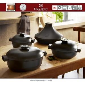 DELIGHT Кастрюля-жаровня керамическая для духовки и любых плит, индукционное дно, 4.5 л, L 36 см, Emile Henry, арт. 91056, фото 11