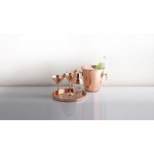 Ведро для охлаждения шампанского, Copperina, ручная работа, медь, арт. 119890, фото 4