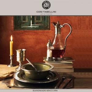 Графин VELLETRI для выдержанного вина, 1 литр, олово, стекло, ручная работа, Cosi Tabellini, Италия, арт. 24598, фото 3