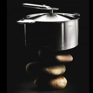 Крышка металлическая 20 см, серия Dome, CRISTEL, Франция, арт. 668, фото 5
