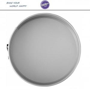 CAKE Антипригарная форма для выпечки круглая разъемная, D 25.4 х 7 см, Wilton, США, арт. 108826, фото 6