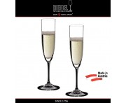Бокалы для шампанского Champagne Glass, 2 шт, 160 мл, машинная выдувка, VINUM, RIEDEL