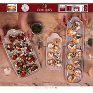 Aperitivo Блюдо для запекания и подачи, 41 x 10 см, керамика, цвет серый, Emile Henry, арт. 90819, фото 7