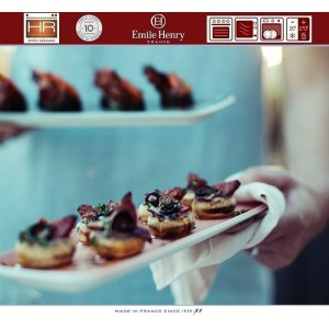 Aperitivo Блюдо для запекания и подачи, 23 x 10 см, керамика, цвет серый, Emile Henry, арт. 90822, фото 5