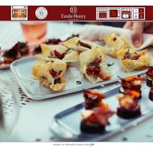 Aperitivo Блюдо для запекания и подачи, 23 x 10 см, керамика, цвет серый, Emile Henry, арт. 90822, фото 7