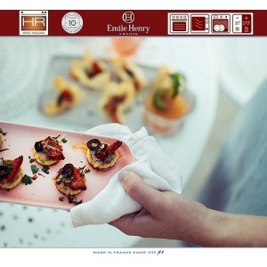 Aperitivo Блюдо для запекания и подачи, 23 x 10 см, керамика, цвет серый, Emile Henry, арт. 90822, фото 8