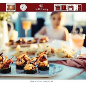 Aperitivo Блюдо для запекания и подачи, 23 x 10 см, керамика, цвет серый, Emile Henry, арт. 90822, фото 11