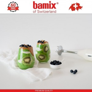 BAMIX EO160 Classic White блендер, белый, Швейцария, арт. 96842, фото 3