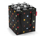 Сумка-органайзер для бутылок bottlebag dots, L 24 см, W 24 см, H 28 см, Reisenthel, Германия