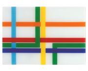 Разделочная доска и сервировка ring road map, L 29,5 см, W 42 см, H 0,4 см, PO: SELECTED, Дания