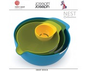 Набор Nest: 3 миски и отделитель белка, 4 предмета, Joseph Joseph, Великобритания
