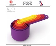 Набор мерных ёмкостей Nest, 8 шт, цвет мультиколор, Joseph Joseph, Великобритания