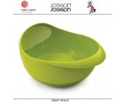 Дуршлаг-миска Prep and Serve 2 в 1, зеленый, Joseph Joseph, Великобритания