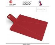 Большая доска Chop2pot Plus складная, красный, Joseph Joseph, Великобритания