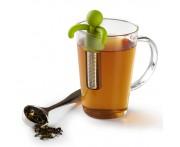 Ёмкость Buddy для заваривания чая в кружке, зеленая, сталь, пластик, Umbra, Канада