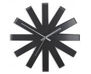 Часы настенные Ribbon черный, D 30,5 см, Umbra, Канада