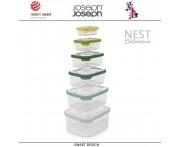 Контейнеры NEST 6 для пищевых продуктов, 6 штук, цвет опал, Joseph Joseph, Великобритания