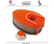 Губки Soapy (3 шт) с капсулой для моющего средства, оранжевый, Joseph Joseph, Великобритания