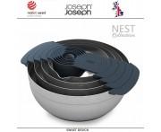 Набор кухонных мисок Nest Collection 100, 9 предметов, сталь нержавеющая, Joseph Joseph, Великобритания