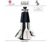 Набор кухонных инструментов Elevate 100 на вращающейся подставке Carousel, 7 предметов, Joseph Joseph, Великобритания