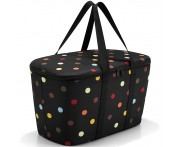 Корзина-Термосумка coolerbag dots, L 44,4 см, W 25 см, H 24,5 см, Reisenthel, Германия