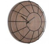 Настенные часы cage черные, L 40,6 см, W 11,3 см, H 40,6 см, Umbra, Канада