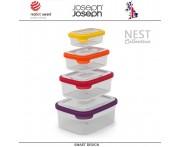 Контейнеры NEST 4 для пищевых продуктов, 4 штуки, Joseph Joseph, Великобритания