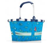 Корзина детская carrybag xs cactus blue, Reisenthel