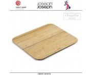 Малая доска Chop2pot складная, бамбук, Joseph Joseph, Великобритания