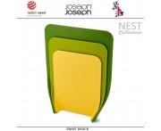 Набор разделочных досок Nest: 3 предмета, зеленый, Joseph Joseph, Великобритания