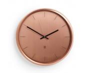 Часы настенные meta медь, L 31,8 см, W 31,8 см, H 31,8 см, Umbra