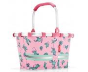 Корзина детская carrybag xs cactus pink, Reisenthel