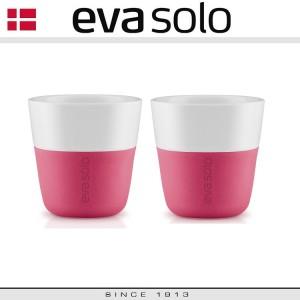 Кофейные стаканы EVA для эспрессо, 2 шт по 80 мл, розовый, фарфор, силиконовый ободок Eva Solo, Дания, арт. 96909, фото 4