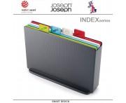 Набор разделочных досок INDEX 17, 5 предметов, графит, Joseph Joseph, Великобритания