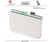 Набор разделочных досок INDEX 17, 5 предметов, опал, Joseph Joseph, Великобритания