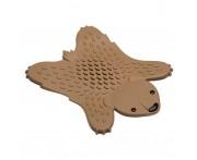 Коврик для горячей посуды Grizzly коричневый, силикон, OTOTO, Израиль