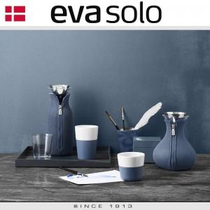 EVA Кофейные стаканы для латте, 2 шт 360 мл, темно-зеленые, фарфор, силиконовый ободок, Eva Solo, Дания, арт. 85039, фото 3