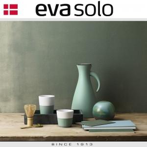 EVA Кофейные стаканы для латте, 2 шт 360 мл, темно-зеленые, фарфор, силиконовый ободок, Eva Solo, Дания, арт. 85039, фото 2